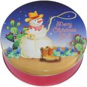 2C Texas Snowman (Western Snowman)