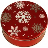 3C Red with Snowflakes