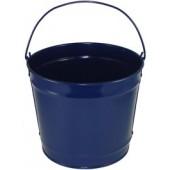 10 Qt Powder Coated Bucket - Navy Blue Lustre 308