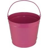 10 Qt Powder Coated Bucket - Pink Radiance 309