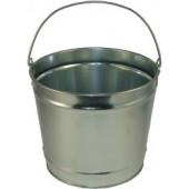 10 Qt Powder Coated Bucket - Plain Galvanized 315