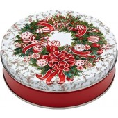 2C Red & White Wreath