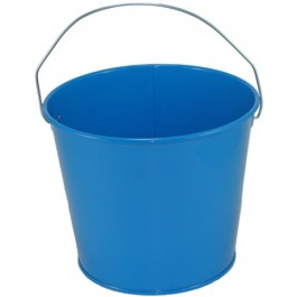 5 qt powder coated bucket sky blue 320