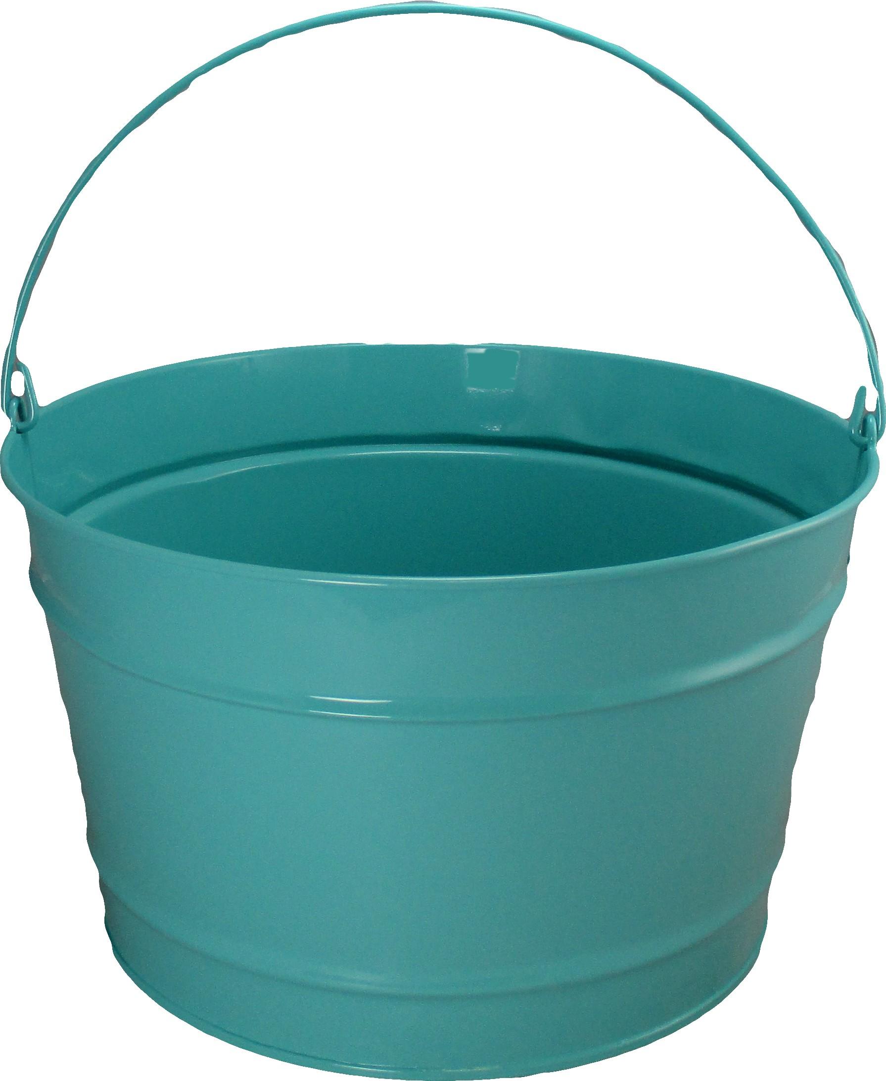 16 Qt Powder Coat Bucket - Robins Egg Blue - 321