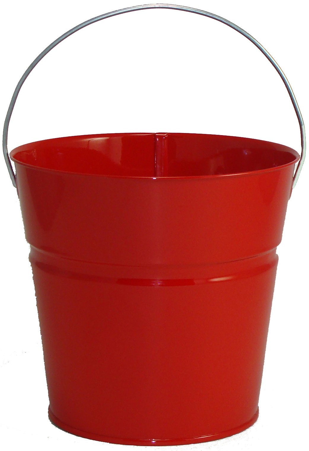 2 Qt Powder Coated Bucket-Candy Apple Red - 003
