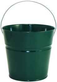 2 Qt Powder Coated Bucket-Hunter Green - 004