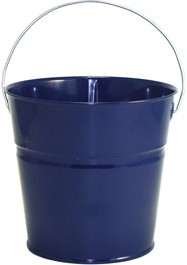 2 Qt Powder Coated Bucket-Navy Blue Lustre - 308