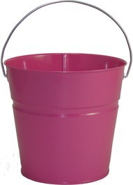 2 Qt Powder Coated Bucket-Pink Radiance - 309
