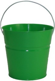 2 Qt Powder Coated Bucket-Electric Green - 317