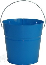 2 Qt Powder Coated Bucket-Sky Blue - 320