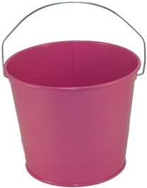 5 Qt Powder Coated Bucket - Pink Radiance 309