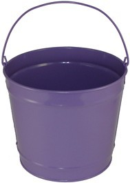 10 Qt Powder Coated Bucket - Purple Radiance 310