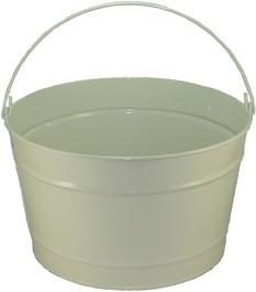 16 Qt Powder Coat Bucket - Beige Shimmer 316