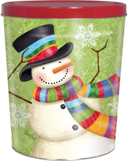 50T Scarf Snowman