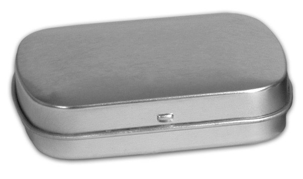 Lg Flat Hinged - Platinum
