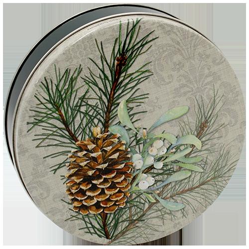 1S Pinecone & Mistletoe