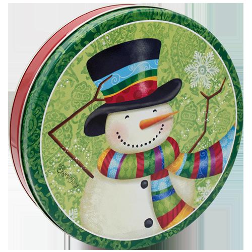 115 Scarf Snowman