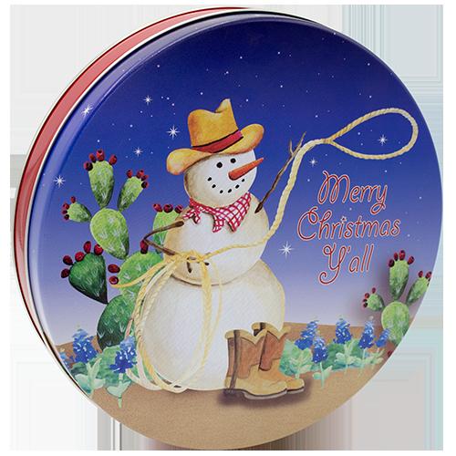 115 Texas Snowman/Western Snowman