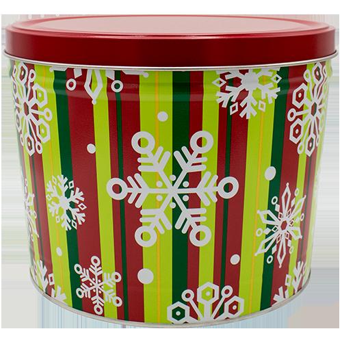 15T Stripes & Snowflakes