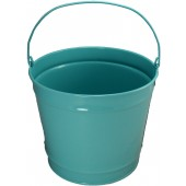 10 Qt Powder Coated Bucket - Robins Egg Blue - 321
