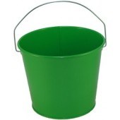 5 Qt Powder Coated Bucket - Electric Green 317