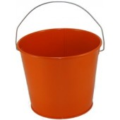 5 Qt Powder Coated Bucket - Orange Peel 319