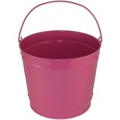 10 Qt Powder Coated Bucket - Pink Radiance 309
