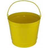 10 Qt Powder Coated Bucket - Sunshine Yellow 312