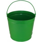 10 Qt Powder Coated Bucket - Electric Green 317