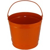 10 Qt Powder Coated Bucket - Orange Peel 319