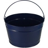 16 Qt Powder Coat Bucket - Navy Blue Lustre 308