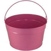 16 Qt Powder Coat Bucket - Pink Radiance 309