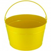 16 Qt Powder Coat Bucket - Sunshine Yellow 312