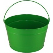 16 Qt Powder Coat Bucket - Electric Green 317