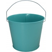5 Qt Powder Coated Bucket - Robins Egg Blue - 321