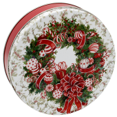 1S Red & White Wreath