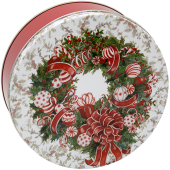 2C Red & White Wreath
