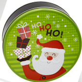2C Santa with Gifts Lime