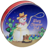 1S Texas Snowman/Western Snowman