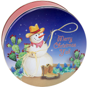 5C Texas Snowman/Western Snowman