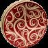 115 Golden Swirls