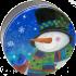 2C Top Hat Snowman